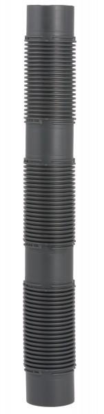 Abgasrohr flexibel per Meter ohne Montageset - kürzbar - einwandig aus PP