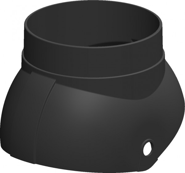 Braas Abgaskalotte DuroVent 128 - schwarz