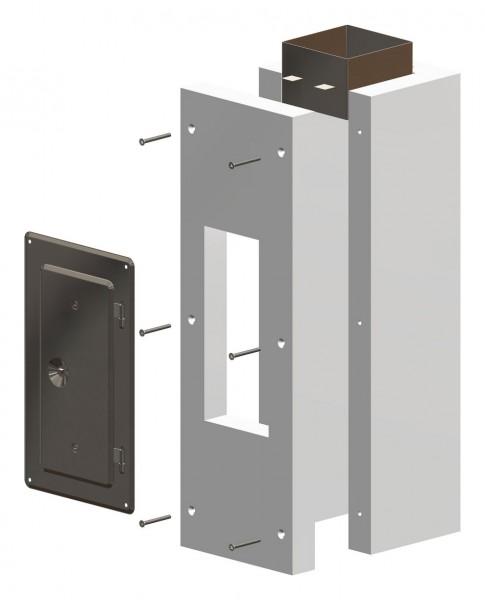 F90 Kontroll-Rohr-Set 600 mm, inkl. Steckverbinder