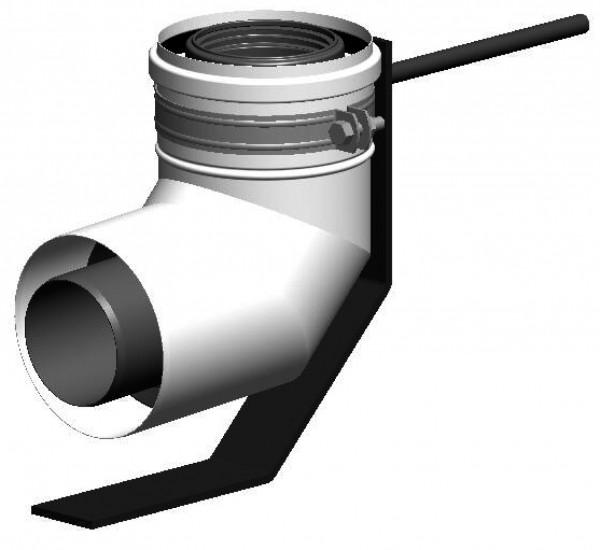 Schachteinführung - LAS doppelwandig aus PP/Stahl