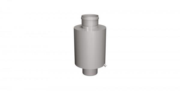 Abgasschalldämpfer 15 dB geschweißt