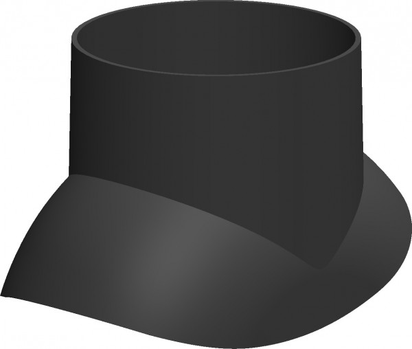 Adapter für Klöber Grundplatte - schwarz