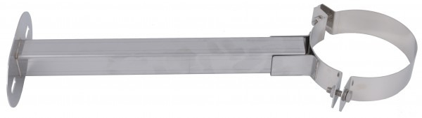Wandabstandhalter 50 - 500 mm - kürzbar - aus Edelstahl blank