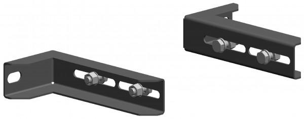 Verlängerung für Wandabstandhalter 60-140 mm - aus Edelstahl blank