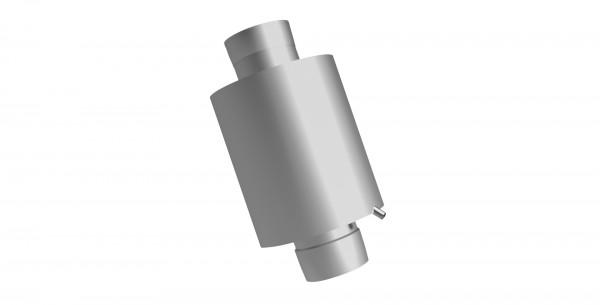 Abgasschalldämpfer 25 dB modular