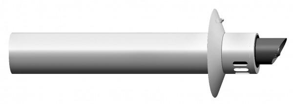 Außenwandanschluss - LAS doppelwandig aus PP/Stahl