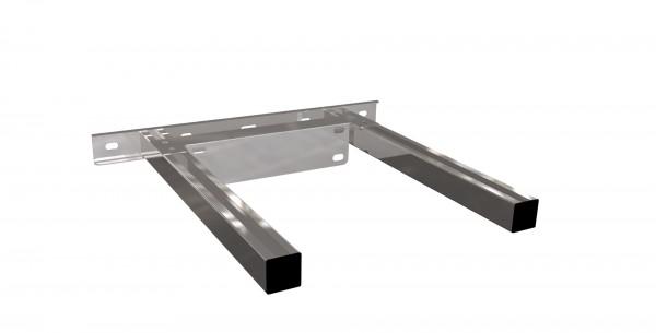 Wandhalterverlängerung verstellbar 100-500 mm