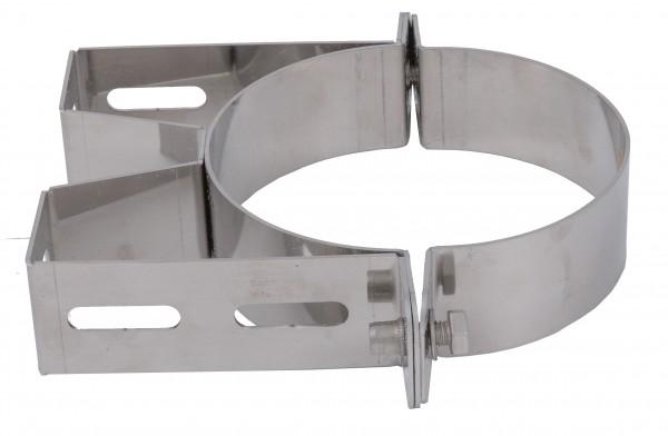 Wandabstandhalter 50 mm - kombinierbar mit Verlängerungen - aus Edelstahl blank