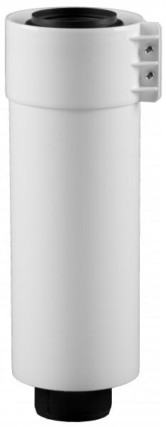 1.955 mm Abgasrohr gerade - kürzbar - LAS doppelwandig aus PP/PP