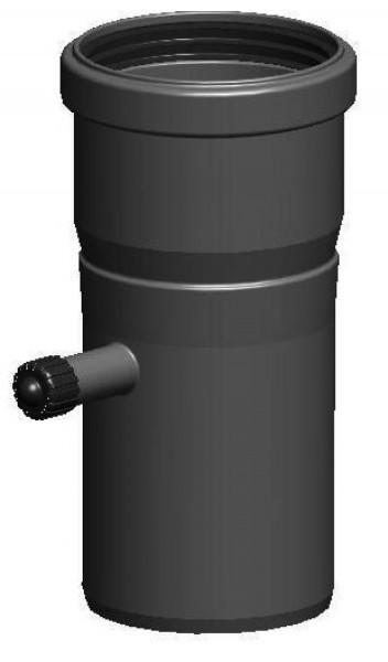 Messelement / Kesselanschluss - einwandig aus PP