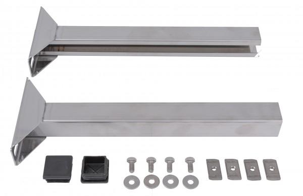 Verlängerung für Wandabstandhalter 50 - 1.100 mm - aus Edelstahl blank