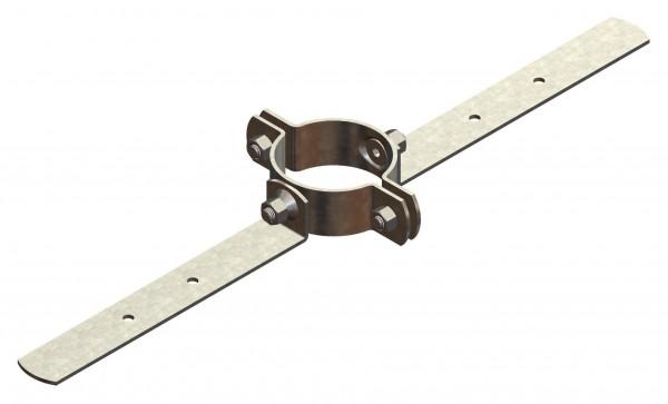 Flexrohraufhängung für Abgasrohr flexibel aus PP
