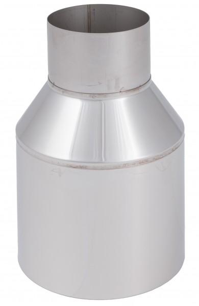 Mündungsabschluss - LAS doppelwandig aus Edelstahl blank
