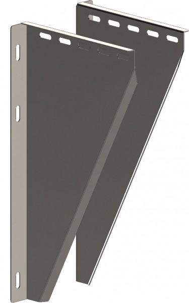 Konsolbleche 50-150 mm - verstellbar - aus Edelstahl blank