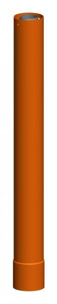 Verlängerung zu Dachhochführung ziegelrot 955 mm - LAS doppelwandig aus PP/PP