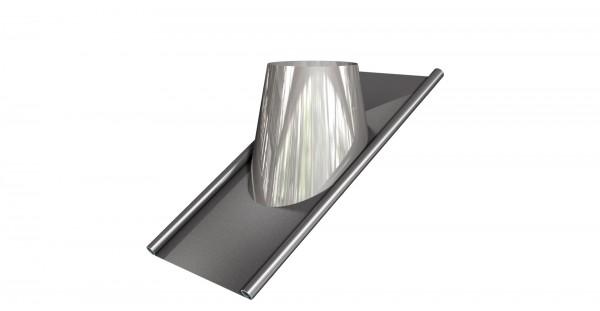 Dachdurchführung geneigt 45° mit Blei